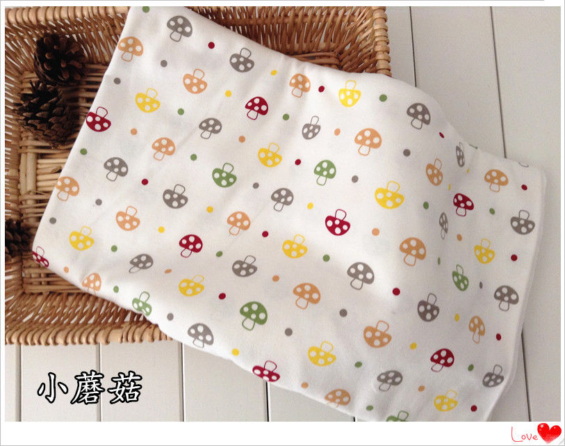 3312c17206c 50x190cm 2 sided Knitted Cotton Baby Jersey Fabric DIY Material Print  Elephant Planes Mushroom Elephant F8308B-in Fabric from Home & Garden on ...