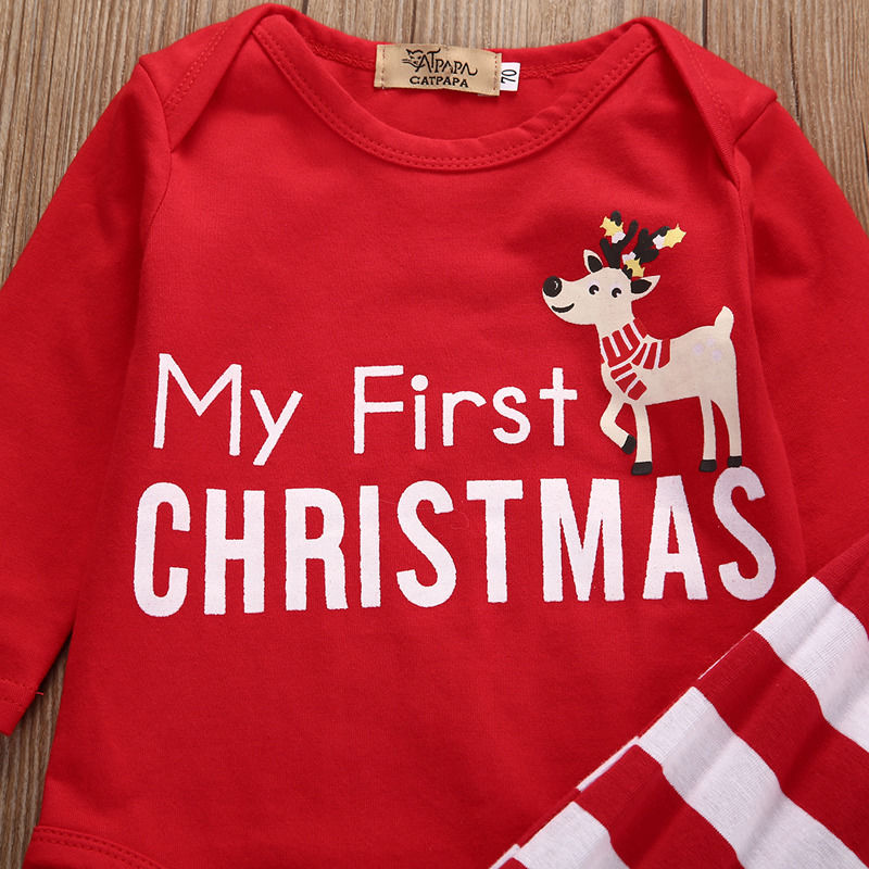 Baby S First Christmas Set
