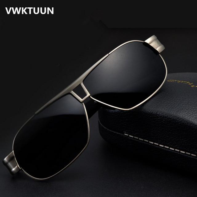 70e26894cb VWKTUUN Polarized Sunglasses Men Coating Sun Glasses Outdoor Sport Driving  Fishing Sunglass Oversized Mens Shades Sunglases