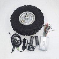 14,5 электрическая тачка мотор редуктор 24 в 36 в 48 в 250 Вт 350 Вт 500 Вт электрическая тачка для всего рельефа, комплект для бездорожья, грубые шины