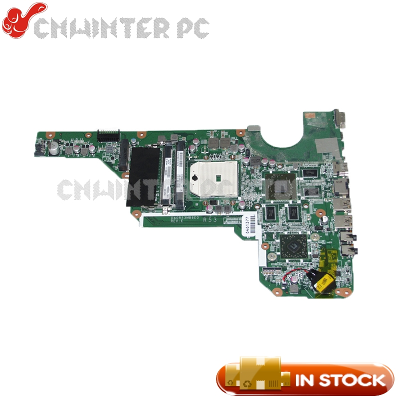 NOKOTION 683030-001 683030-501 DA0R53MB6E0 Laptop Motherboard For Hp Pavilion G4 G6 G4-2000 G6-2000 G7Z-2100 HD7670M DDR3 nokotion 687229 001 qcl51 la 8712p laptop motherboard for hp pavilion m6 m6 1000 hd7670m ddr3 mainboard full tested