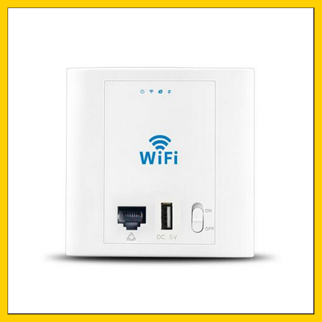 10 Pcs Lf-pw300u 24 V 300 Mbps Wi-fi Ap Router Wifi In-wand Access Point Repeater Profitieren Sie Klein