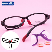 Seemfly Children Ultralight Read Glasses Students Myopic Square TR90 Frame Sports Hyperopia Amblyopia Girls&Boys