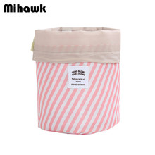 Mihawk Women Cosmetic Bag Beauty Toiletry String Pouch Fashion Eyebrow Pencil Eye Shadow Travel Makeup Tote Supplies Accessories(China)