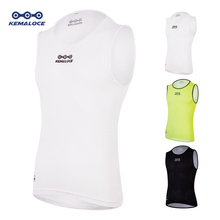 Men Pro 2019 Mesh Breathable Cycling Base Layer Cycle Undershirt Women White Cool Quick Dry Road Summer Bicycle Bike