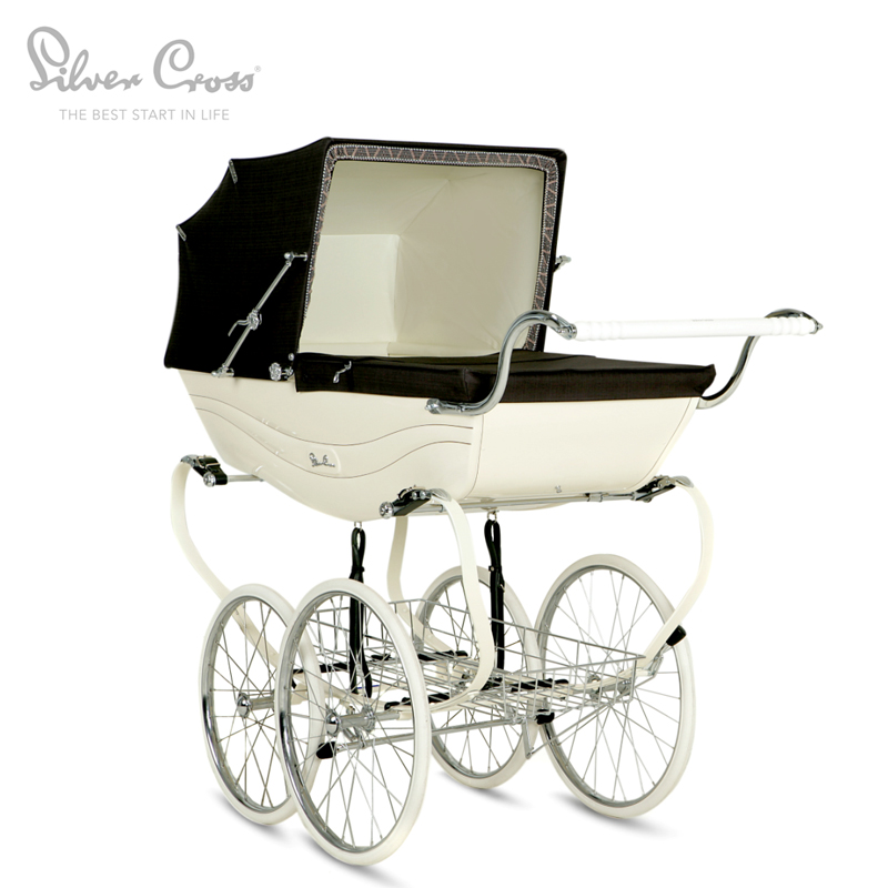 Silver Cross Balmoral British Luxury Brands Imported Baby Stroller Shockproof Free Shipping