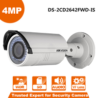 In Stock Hikvision CCTV IP Camera DS 2CD2642FWD IS 4MP 1080P Real Time Video IR Bullet
