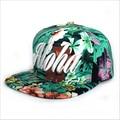 Amorous feelings color tie-dye ALOHA Hawaii new beach hat ladies chapeu boy solar cap sun hats for men and women