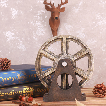 Vintage Loft Gear Resin Ornaments Home Accessories Housewarming Gifts Decoration Ornaments For Home Decoration