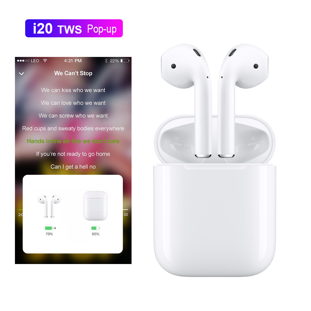 I20 tws taille 1:1 pas W1 d'air mx Sans Fil Bluetooth écouteurs PK w1 puce LKTE8 lk te 9 LK-TE9 i10 i11 i12 i13 i14 i15 i16 tws