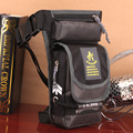 Waterproof Small travel shoulder bag messenger Bag fanny pack Waist bag Men Black Army Green Nylon