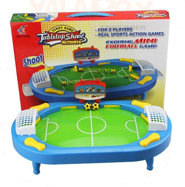 Juguete de plástico Regalo de Cumpleaños de bebé de escritorio divertido juego de mesa Sesión de fútbol pelota de fútbol familia padres-niño interactivo educativo