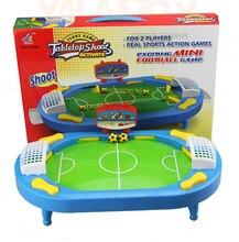 Пластиковые игрушки детские подарок на день рождения рабочего стола смешные игры настольная стрелять футбол fossball семья родитель-ребенок интерактивные образовательные