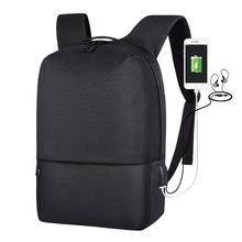 Outdoor Travel Anti-theft Backpack Laptop Backpacks bags With USB Charger For Men Student School Shoulder Bag large capacity(China)