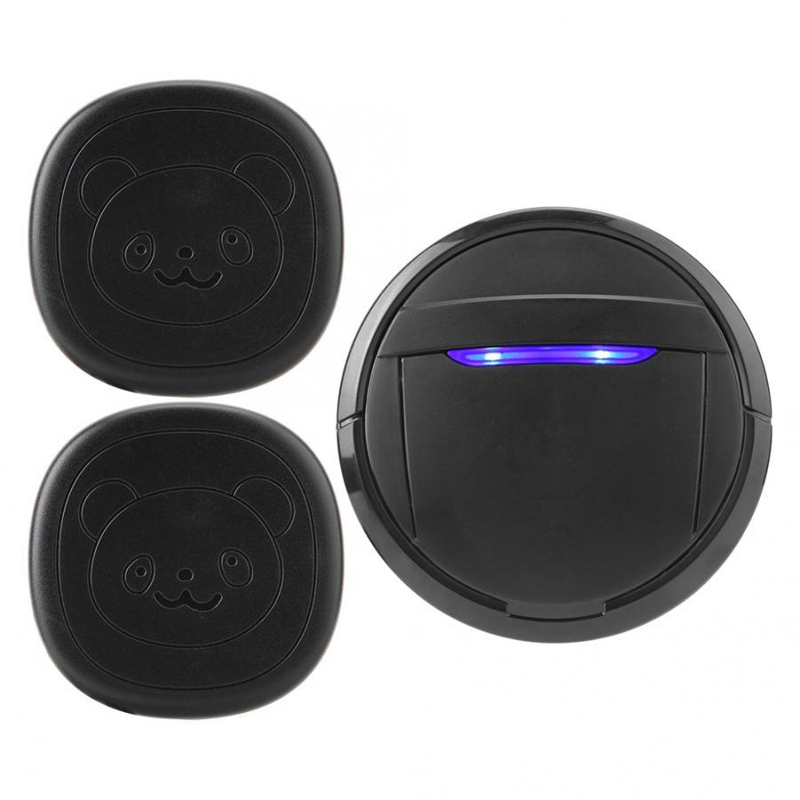 Wireless Touch Button Dog Door Bell Dog Training Older SOS Caller 1 Transmitter 1 Receiver/ 2 Transmitter 1 Receiver-0