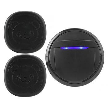 Wireless Touch Button Dog Door Bell Dog Training Older SOS Caller 1 Transmitter 1 Receiver/ 2 Transmitter 1 Receiver