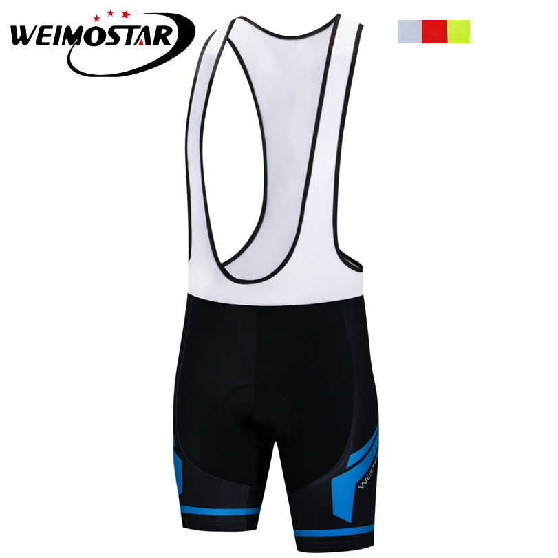 Weimostar Men Outdoor Cycling Bib Shorts MTB 3D Pad Pro Team Riding Bib Shorts Bike Bicycle Clothing Ropa Ciclismo