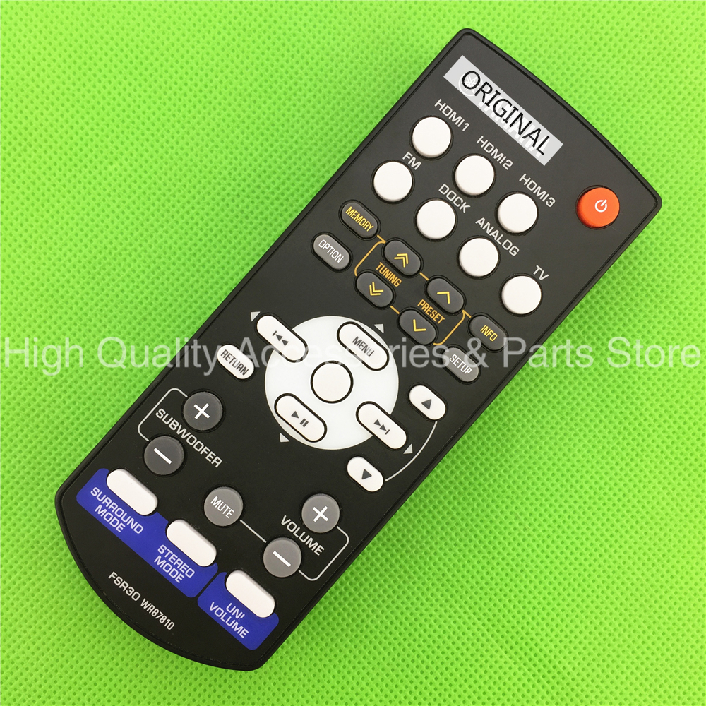 ORIGINAL REMOTE CONTROL FOR YHT S400  SR 300  NS BR300  YHT S400BL YHTS400 SR300  NSBR300 YHTS301|Remote Controls|Consumer Electronics - title=