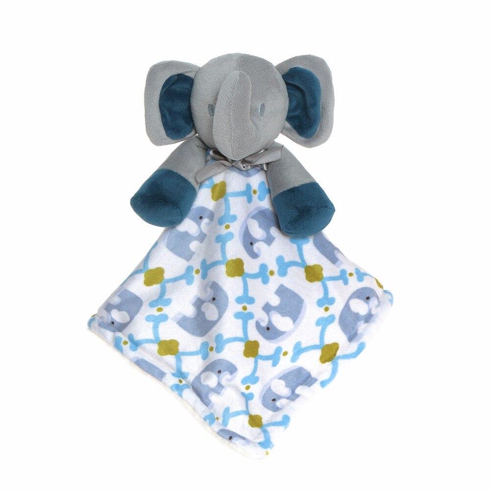 Wingingkids Baby Soothing Towel Plush Animal Toy Soft Doll