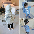 [Bosudhsou.] #K-61  Hot & New Summer Cotton Cardigan Boys Girls Cardigan Children Clothing Outwear Kids Baby Hooded Sweater