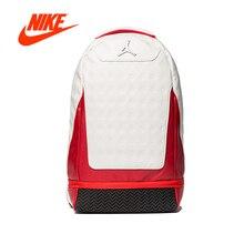Официальный оригинальный Новое поступление аутентичный Nike Air Jordan Ретро 12 13 школьная сумка спортивный рюкзак сумка для компьютера спортивная сумка
