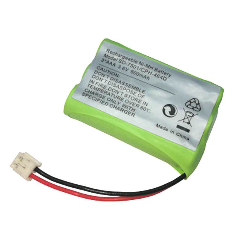 Ni-MH 800mAh 3.6V Replacement Cordless Home Phone Battery For Motorola SD-7501 V-Tech 89-1323-00-00 AT & T Lucent 27910