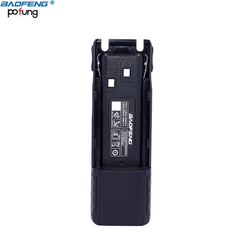 Baofeng UV-82 BL-8 7.4 v 3800 mAh Haute Capacité Batterie Pour BaoFeng UV-82 UV-82HX UV-82HP Série Talkie Walkie à Deux Voies Radio
