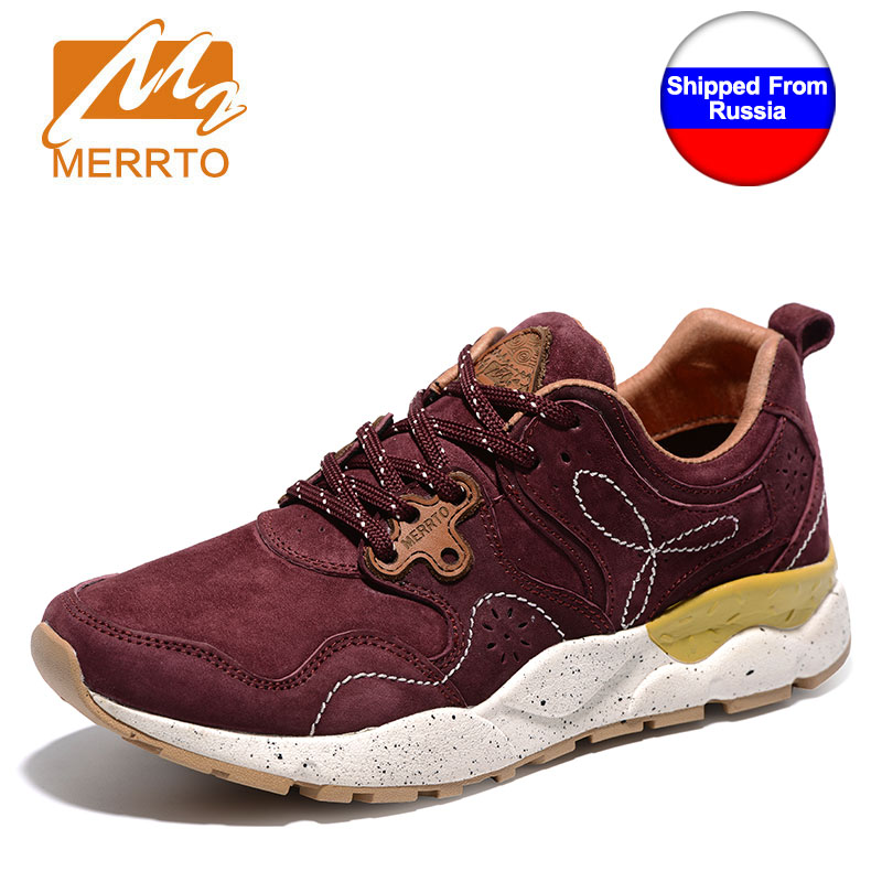 Ship from RU MERRTO Outdoor Sport Shoes Female Light Weight shoes Running Shoes for Women Breathable Off road Jogging Walking kelme 2016 new children sport running shoes football boots synthetic leather broken nail kids skid wearable shoes breathable 49