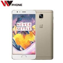 """טלפון נייד מקורי oneplus 3 t a3010 lte 4 גרם snapdragon 821 quad core 5.5 """"1080*1920 p 6 גרם RAM 64/128 גרם ROM 16MP טביעת אצבע NFC(China (Mainland))"""