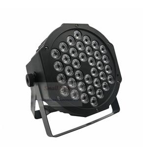 Image 3 - Snelle Verzending Led 36X3W Rgbw Led Flat Par Rgbw Kleur Mengen Dj Wash Light Stage Uplighting Ktv disco Dj DMX512 Decoratieve Lamp