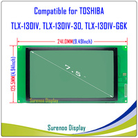 TLX 1301V TLX 1301V 30 TLX 1301V G6K 240128 240*128 Graphic Matrix LCD Module Display Screen Panel Compatible for TOSHIBA