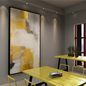 Image 5 - Laminas decorativas pared cuadros duvar sanatı tuval Vintage boyama pinturas decorativas abstracto boyama oturma odası için büyük