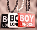 Arcylic London Boy Pendant Necklace Hiphop Necklace & Pendants Costume Jewelry Wholesale 10pcs/lot