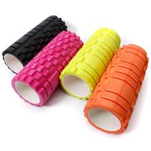 New 5 Color 34x14cm 13x5inch Pilates Fitness Foam Roller Massage Grid Trigger Point