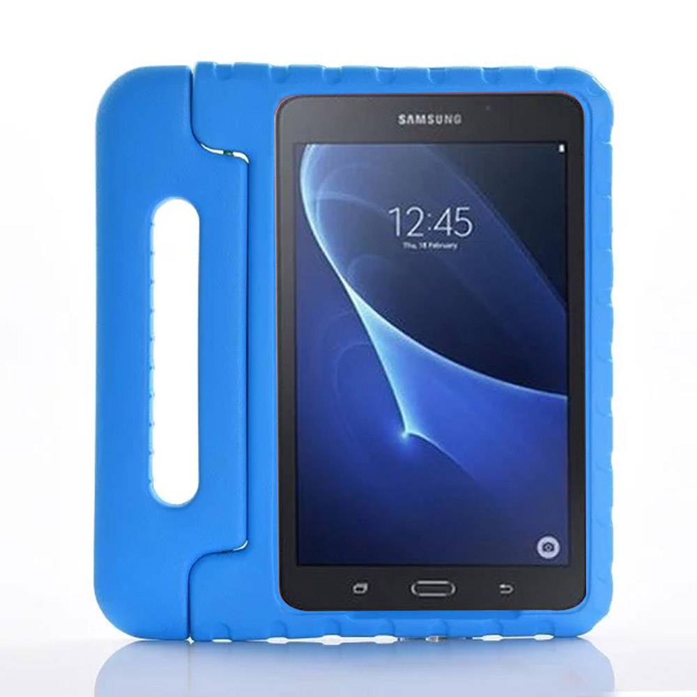 new product 4a5ab a543d US $14.99 6% OFF|Kids Children Shockproof Case Handle Stand Cover for  Samsung GALAXY Tab A 10.1 inch T580 T585 EVA Foam Tablet Protective Case-in  ...