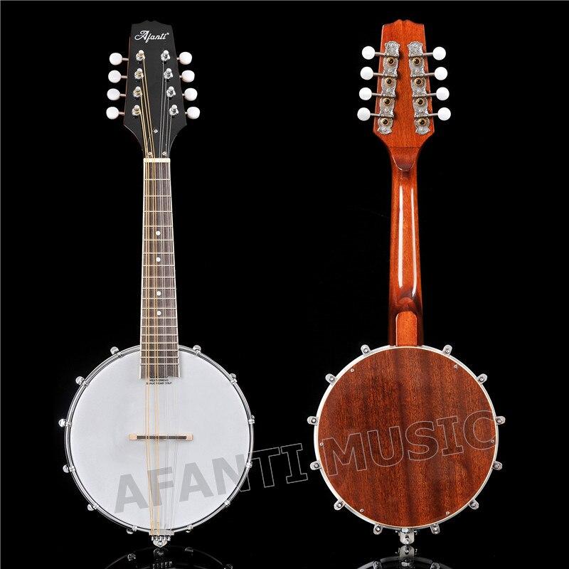 Chaud!! Afanti musique guitare usine 8 cordes mandoline Banjo (AMB-900)