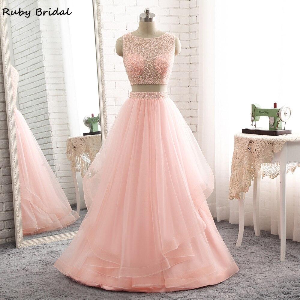 Aliexpress.com: Comprar Rubí nupcial vestido de festa largo Vestidos ...