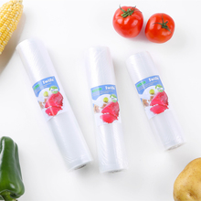 Купить с кэшбэком Iwife 3 Rolls/Lot Vacuum Bags For Food Storage Kitchen Packaging Sealing Plastic Sealer Roll 12 15 20 25 28*500cm Dropshipping