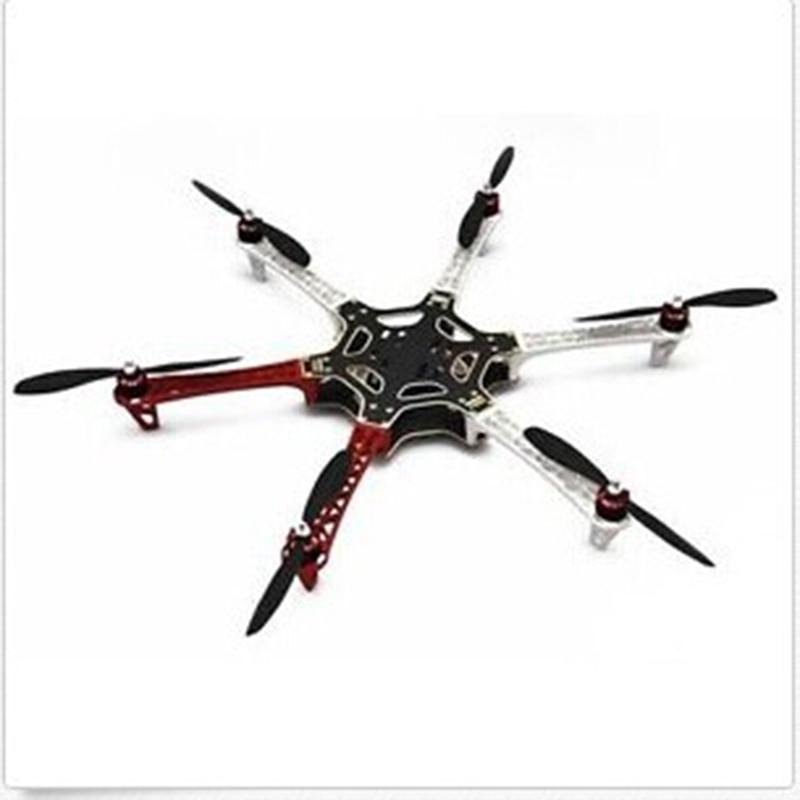 F550 ATF Hexacopter Frame Kit DJI 920KV Brushless Motor DYS Simonk 30A ESC