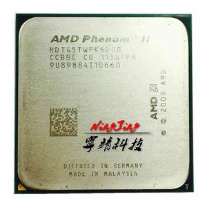 Image 1 - AMD Phenom II X6 1045T 1045 2.7 GHz ستة النواة معالج وحدة المعالجة المركزية HDT45TWFK6DGR المقبس AM3