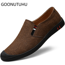 2019 new style men's shoes casual genuine leather loafers male brown black slip on shoe man flats driving shoes for men hot sale mycolen new fashion genuine leather men loafers slip on casual shoes man luxury brand driving shoe male flats footwear black