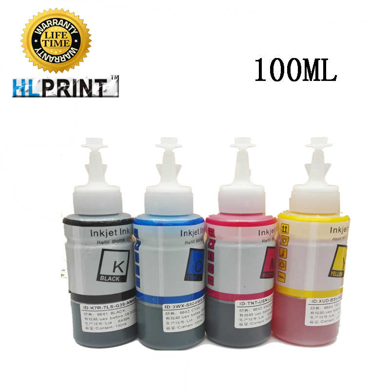 100 Ml 664 Tinta Isi Ulang Kit Kompatibel Epson L120 L1300 L132 L3050 L3070 L312 L566 L300 L310 L312 L350 L355 l360 L362 L365 Printer
