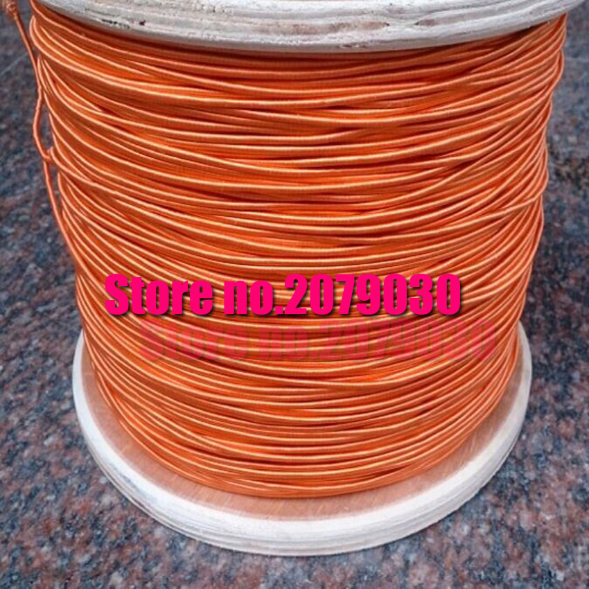 online get cheap orange wire aliexpress com alibaba group 0 04x1200 strands orange color radio around the antenna dedicated multi strand wire envelope