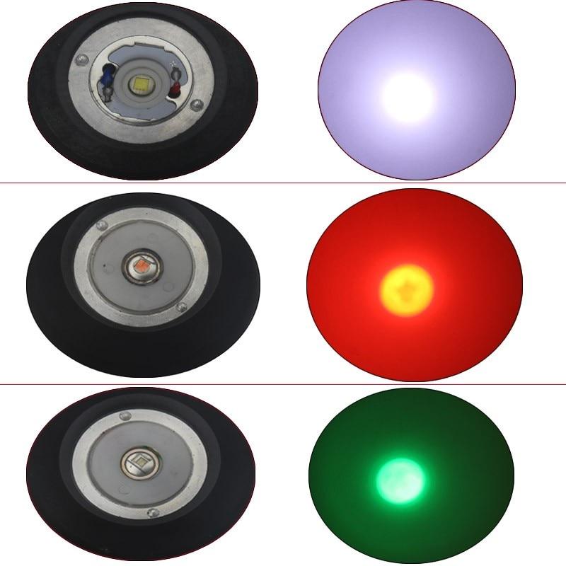 Lanternas e Lanternas anjoet c8 branco/verde/vermelho led lanterna Distância de Iluminação : 200-500 m