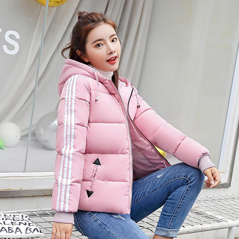 Cheap wholesale 2018 new Autumn winter Hot selling womens fashion casual warm jacket female bisic coats L608