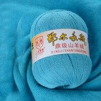 Top 200g 4 Balls Cashmere Thread Knitting Wool Yarn Dyed Eco Friendly Fiber Crochet Yarn Garn