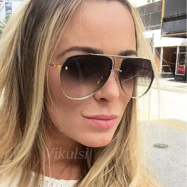 2017 Fashion Aviator Zonnebril Vrouwen Of Mannen Merk Designer Originele  Luxe Clear Brillen Eyewear Vrouwelijke Clear 8344bf29e0d8