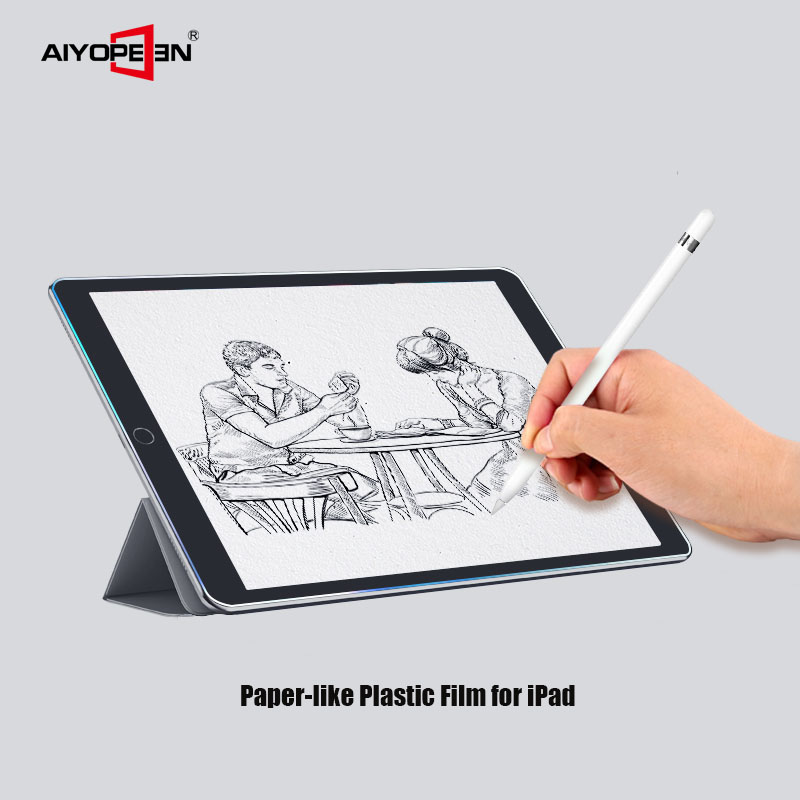 Aiyopeen Protective Painting Film For IPad Air 3 2019, Matte Paper Like Screen Plastic Protector Film For IPad Pro 10.5 2019