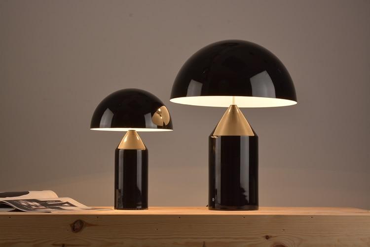 A1 Modern Mushroom head Table Lamps for study metal desk lamp bedside living room bedroom decorations office desk lamp