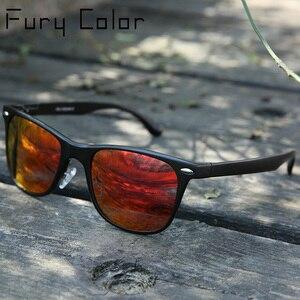 Image 4 - Classic Aluminium Magnesium Polarized Sunglasses men women luxury river design vintage Driving Eyewears sun glasses gafas oculos